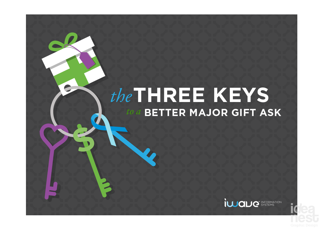 Three Keys to a Better Major Gift Ask cover